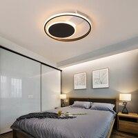 Lustres led moderno sala de estar luz para o quarto jantar lustre teto preto e branco 2019 novo|Lustres| |  -