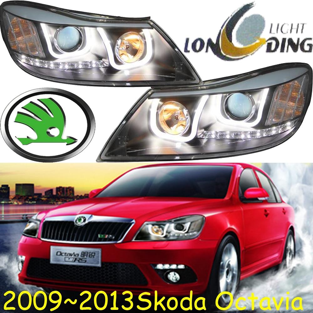 Octavia headlight,2009~2013,Free ship!Octavia fog light,Fabia,Superb,Rapid,Yeti;Octavia octavia