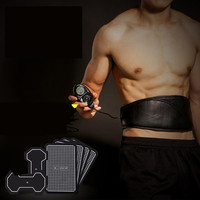 Smart магнитный обруч ремень для мужчин smart фитнес оснастить t мужчин's мышц живота упражнения устройства черный