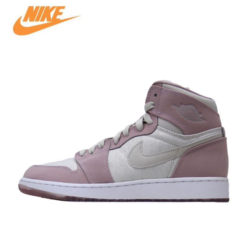 Nike Jordan 1 Retro High GS AJ1 Women's Breathable New Arrival Authentic Basketball Shoes Sports Sneakers 832596-025 nike nike downshifter 6 gs ps