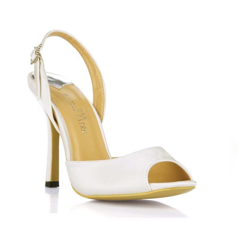 ФОТО plus size 35-43 hot 2016 new silk fashion high heels sandals sexy peep toe ladies OL party pumps sandalias elegant women shoes