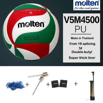 Molten V5M4500 Volleyball Ball Official Game Outdoor Indoor Training Competition Balls H ...