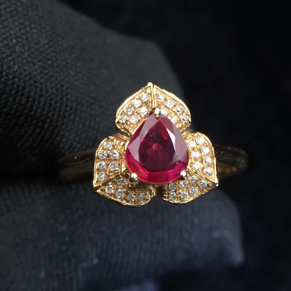 Gemstone Jewelry Factory Wholesale Classic Luxury 18k Yellow Gold