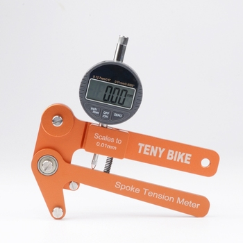 Spoke tension tester Digital Scale 0.01mm Bike Indicator Attrezi Meter Tensiometer Bicycle Spoke Tension Wheel Builders Tool
