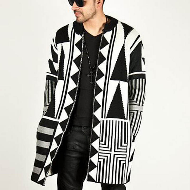 Zogaa Men Sweater Long Sleeve Cardigan Males Pull Style Cardigan Clothing Fashion Thick Warm Mohair Sweater Men England Style