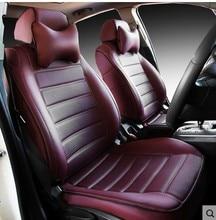 customize leather car seat covers vw cc passat jetta phaeton touareg polo bora tiguan golf lavida santana beetle auto cushion недорого