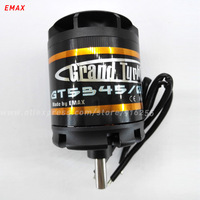 EMAX rc brushless outrunner motor 170kv 190kv 220kv airplane GT series 8mm shaft 63mm for aircraft electric vehicle accessory