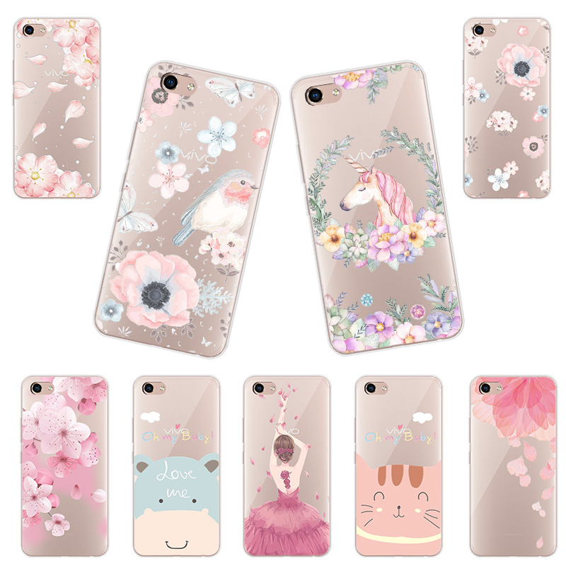 Case For Vivo Y81 3D Relief Plants Flower Lace Soft Silicone For vivo Y81 Phone Cases Cover For Vivo Y81 6.22