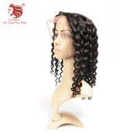 FYNHA Brazilian Virgin Hair Kinky Curl Full Lace Human hair Wigs With Baby Hair Wigs for women Natural Black Color Free Shipping