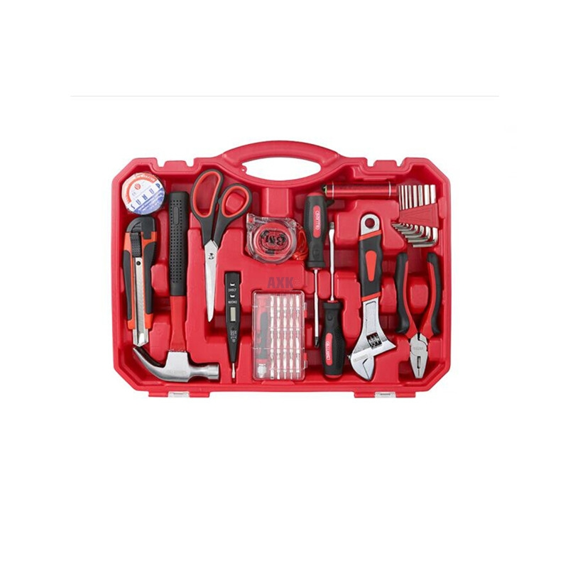 High quality household Tool Set Transparent Toolbox Tool Set 41 Piece Set 0308 цена
