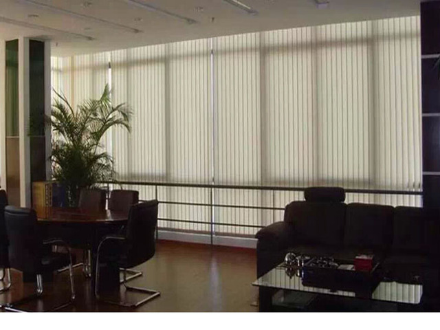Venetian Blinds Curtain Office Use Blackout Fabric Vertical Blind