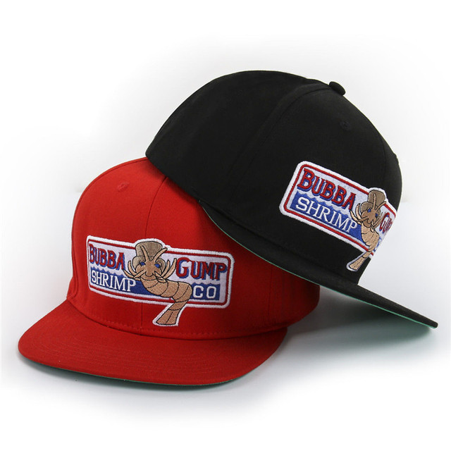 3926984a 1994 BUBBA GUMP SHRIMP CO.Forrest Gump Costume Embroidered Cotton Running  Baseball Sport Outdoor Caps