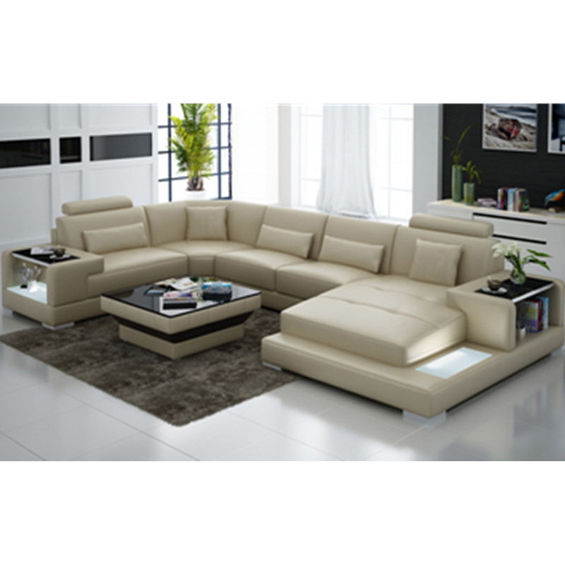 Good Quality Leather Sofa: High Quality Lifestyle Funiture Modern Living Room Real