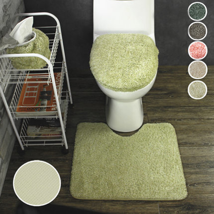 Toilet Seat Cushion WC Padded Toilet Seat Cover Warm Bathroom Mats Set Accessories Asiento Inodoro Household Supplies 40Z0046