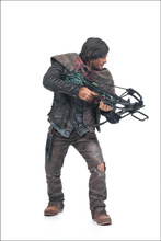 Hot 25cm Walking dead merchandise Action figures Collection Daryl Dixon figure