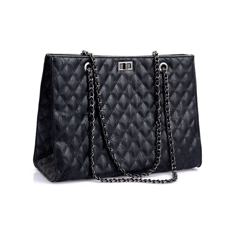 AOLIDA Women Casual Tote Genuine Leather Handbag Bag Fashion Large Shopping Bag Designer Crossbody Bags Big Shoulder Bag Female