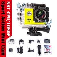 Mini Camera Action Waterproof 1080P Full HD Sport Camcorder Outdoor go pro 2 Screen Helmet Cam Underwater DV Video Recorder