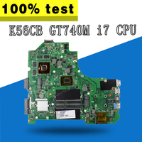 K56CB Motherboard i7 CPU GT740 2GB For ASUS K56CB K56CM A56C S550CM Laptop motherboard K56CB Mainboard K56CB Motherboard test ok