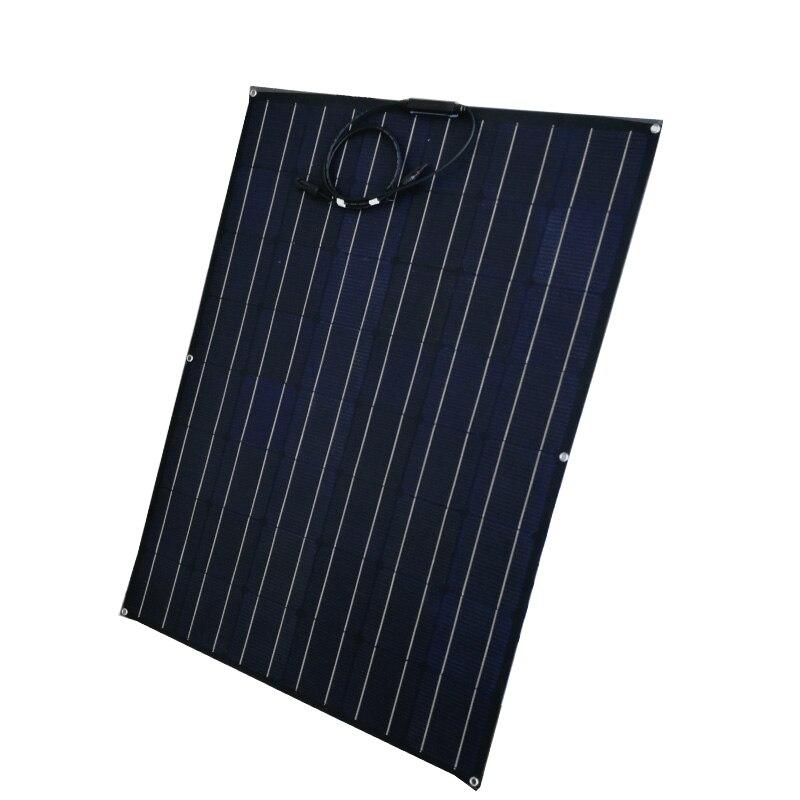1pcs 125W ETFE 18V Flexible Solar Panel Charger ETFE solar cell coating Monocrystalline Solar Cell Semi Solar Battery|Solar Cells| |  - title=
