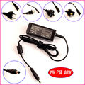 19 v 2.1a 40 w carregador adaptador ac do laptop para samsung n108 n110 N120 N128 N130 N140 N145 N148 N150 N210 N220 N230 N310 N510