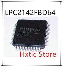 10pcs lot LPC2142FBD64 LPC2142 QFP 64