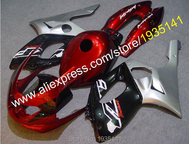 Hot Sales, For Yamaha Yzf600R Thundercat 1997-2007 YZF-600R 97 98 99 00 01 02 03 04 05 06 07 sport motorbike fairings Yzf 600R