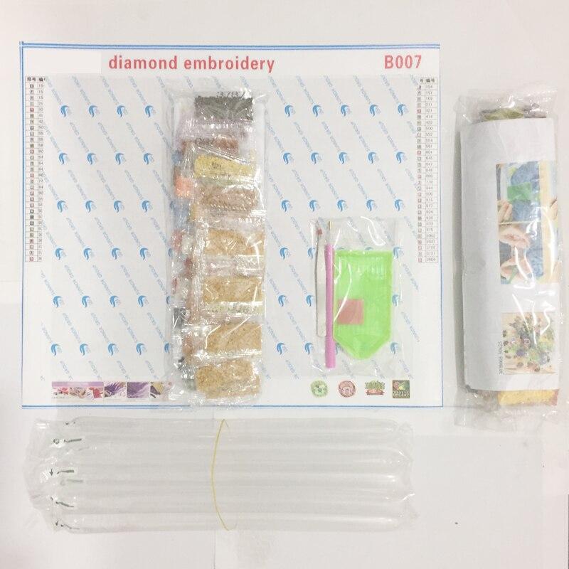pikturë rhinestone, katrore, e plotë, diy, qëndisje 3D, qëndisje - Arte, zanate dhe qepje - Foto 2