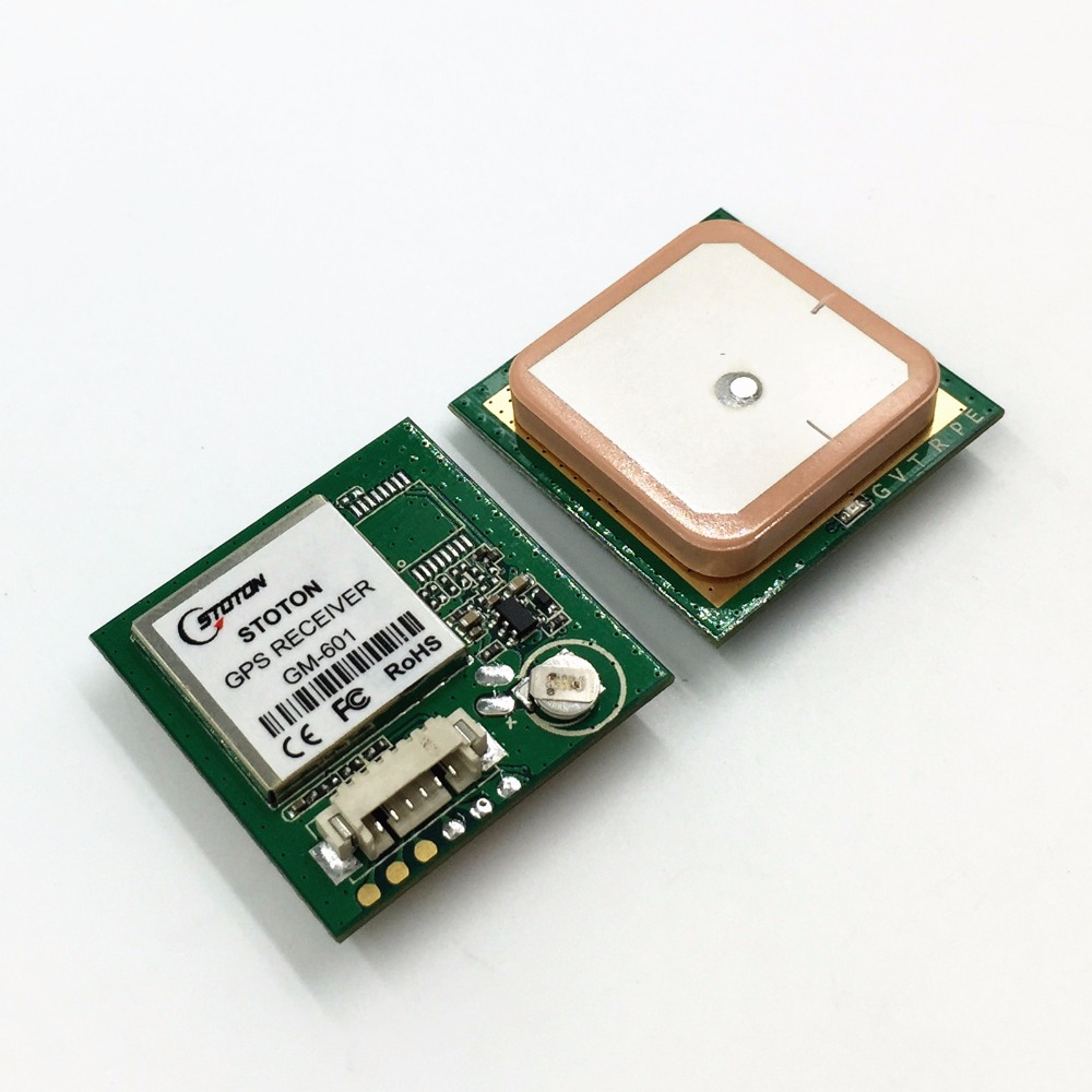все цены на Free shipping GPS Module with Antenna gm601, UART TTL output is compatible with NEO-6M protocol, 9600 baud rate, perfo онлайн