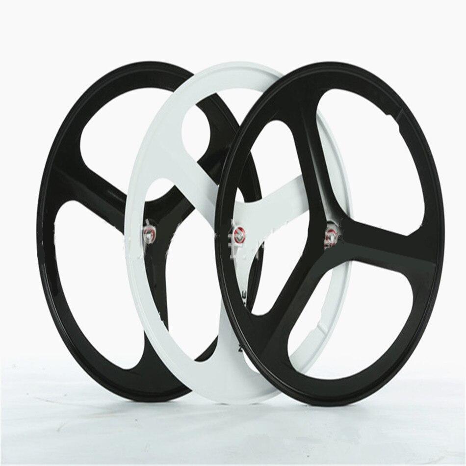 700c dead fly intégré ensemble de roues de vélo en alliage de magnésium une roue anneau de jante de vélo