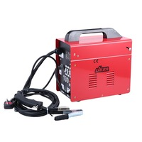 MIG 130 No Gas Welding Machine 230V Electric Welding Machine Gasless MIG Welders Weldering Equipment Welding Tools UK Plug Red