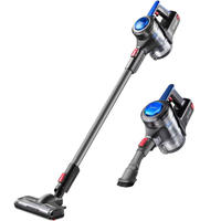 Wireless Vacuum Cleaner Handheld Putter Mute Small Strong Vacuuming One Key Down The Dust 120W