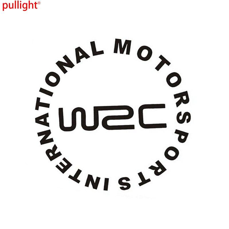 MOTORSPORTS ULUSLARARASI Araba Sticker WRC Dünya Ralli Çıkartmalar Yapıştırılmış Yakıt Deposu Kapağı