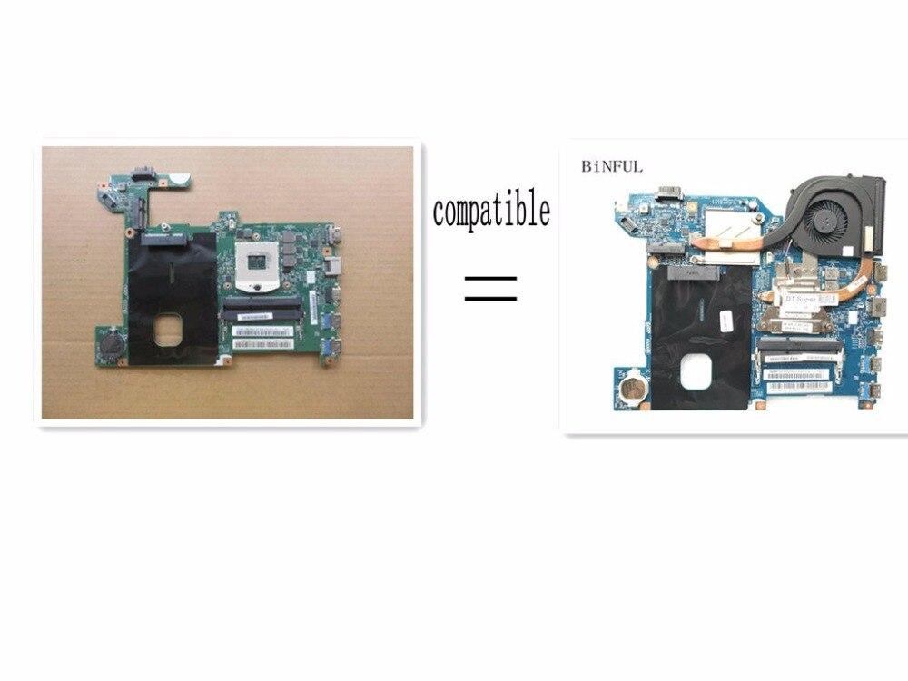 BiNFUL スーパー motherbord + ヒートシンク用互換 lenovo G580 LG4858L 48.4WQ02.021 11206 1 ノートパソコンのマザーボード (比較してください)  グループ上の パソコン & オフィス からの マザーボード の中 1