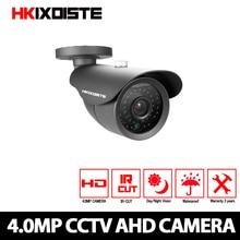 HKIXDIST 4MP AHD Camera Security Video Surveillance Indoor Outdoor Camera Waterproof HD CCTV Camera 4 megapixel 40M Night Vision цена 2017