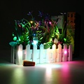 1M 20 LED Cork Shaped LED String Light Night Starry Fairy Light Wine Bottle Lamp For Home Party Gift