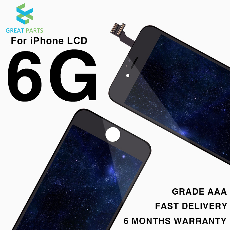 10PCS For ShenChao Grade AAA Pantalla For iPhone 6 LCD Display Touch Screen Assembly Replacement 4