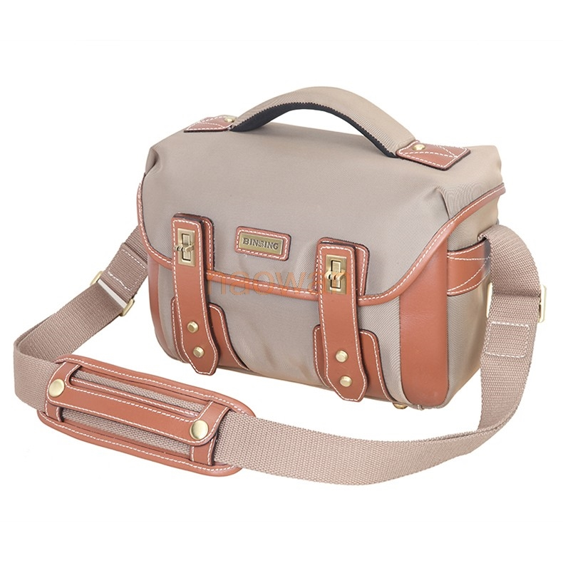T1 single Shoulder Canvas lightweight Waterproof video Backpack Camera Bag Case cover for Canon nikon pentax sony fuji dslr