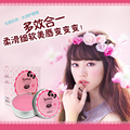 Lip Balm 18g*2 Strawberry+milk Beauty Maquiagem Lip Smacker Cream Lip Nutritious Moisturizer Freeshipping
