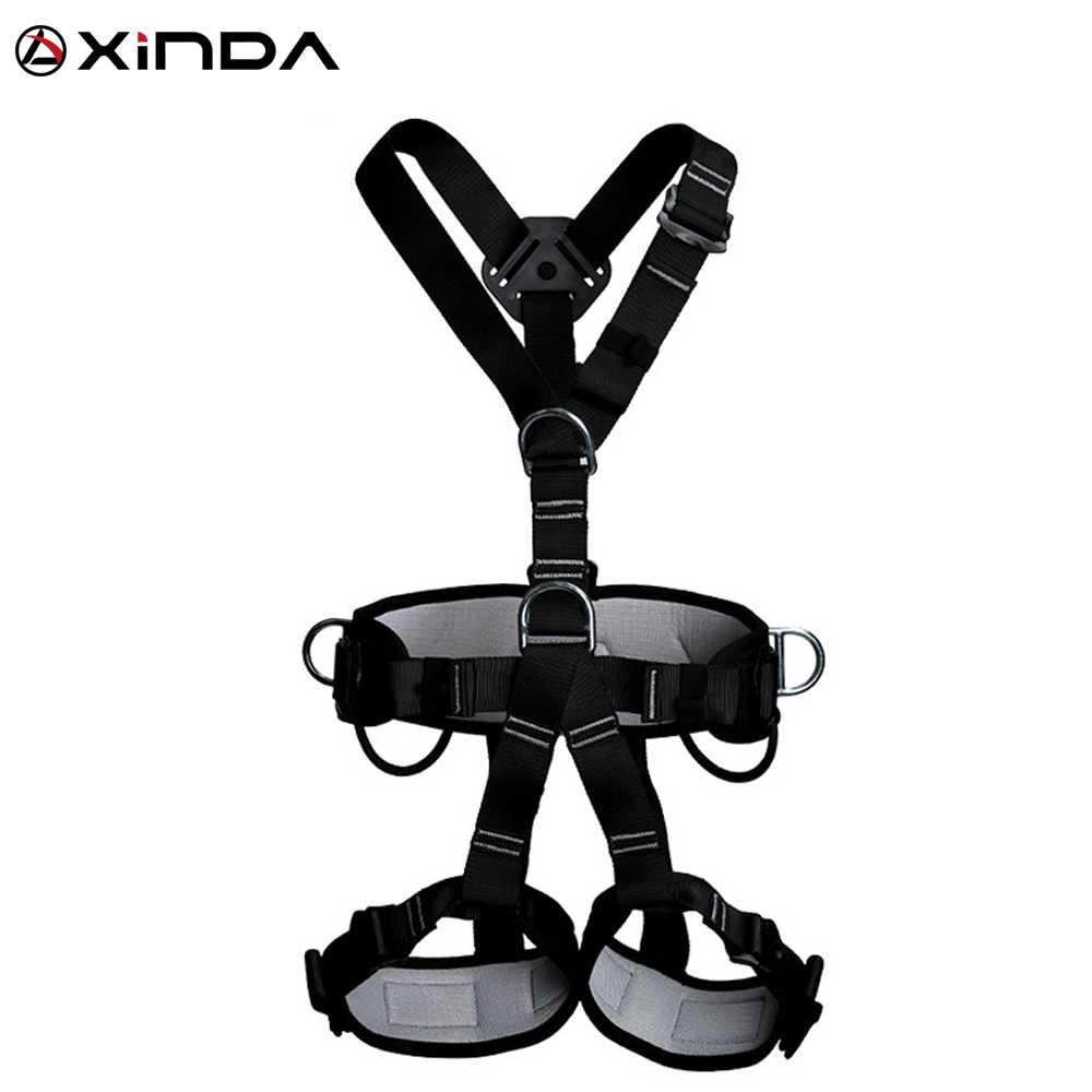Menghasilkan Kualitas Profesional Memanfaatkan Panjat Tebing Tinggi Ketinggian Perlindungan Full Body Safety Belt Anti Jatuh Pelindung