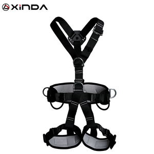 Image 1 - XINDA Top Quality Professional Harnesses Rock Climbing High altitude protection Full Body Safety Belt Anti Fall Protective Gear