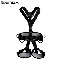 XINDA Top Quality Professional Harnesses Rock Climbing High altitude protection Full Body Safety Belt Anti Fall Protective Gear
