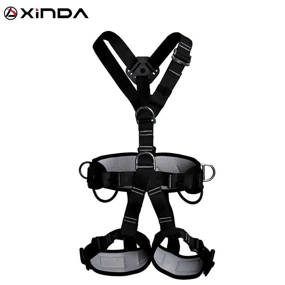 XINDA Top qualité harnais professionnel escalade haute altitude protection ceinture de sécurité complète du corps Anti chute équipement de protection