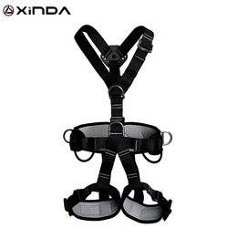 Xinda qualidade superior profissional arneses escalada alta altitude proteção cinto de segurança corpo inteiro anti queda engrenagem proteção