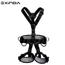 Xinda最高品質のプロフェッショナルハーネスロッククライミング高高度保護全身安全ベルト秋防護服