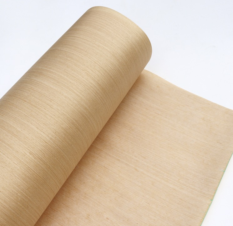 Length:2.5Meters  Width:60cm Technology Wood Skin Pear Straight Grain Wood Veneer