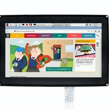 Waveshare 10.1 inch Capacitive Touch Screen LCD 1024x600 for