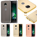 Smartphone Metal Bumper for Motorola MOTO Z Play Case Anti Knock Brushed PC Back Cover Case for Motorola Z Play SmartPhone Cases
