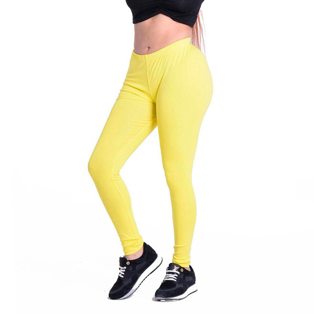 New S-XL 10 Colors Women's Cotton Leggings For Adventure Time Bodybuilding Workout Clothing High Elastic Leggings Women Leggins