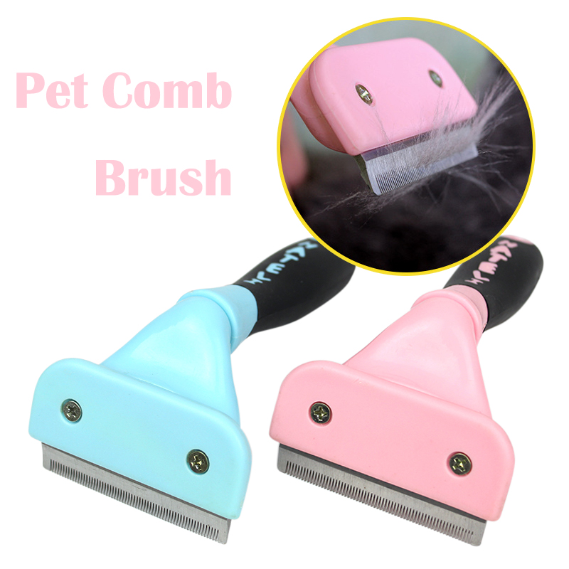 Professional Cats Brush Remover Hair Combs For Cat Grooming Cat Supplies Shedding Detachable Cat Grooming 35