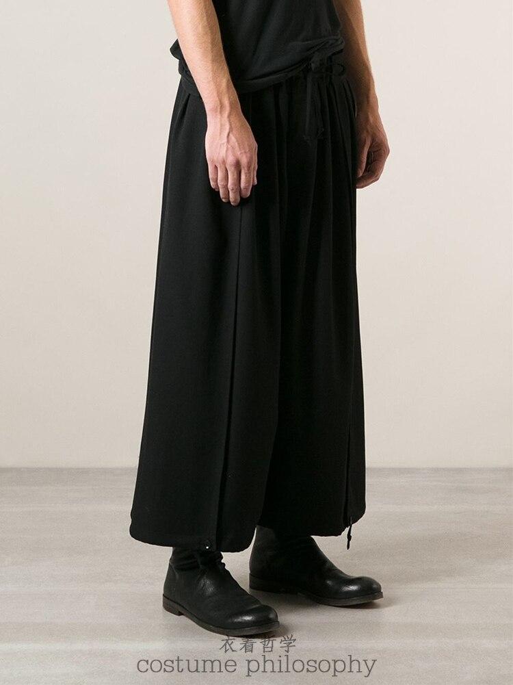 Pantalon Défaites De Nouveaux Jambe Noir Large 2016 Vêtements 27 Costumes Hommes Masculins Taille Chanteur Lâches 44 La Culottes Plus Iw8AqxnvRW